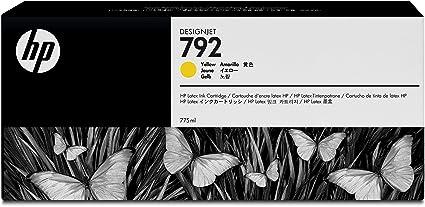 HP 792 - Cartucho de Tinta para impresoras (Amarillo, 775 ml, HP ...