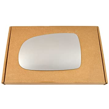 Left passegner side Silver Wing mirror glass # VWPol//i03-2005617//590
