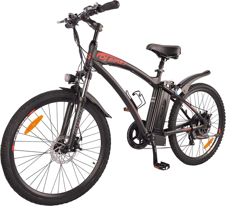 DJ Mountain Bike - Bicicleta eléctrica (750 W, 48 V, 13 Ah, 7 ...
