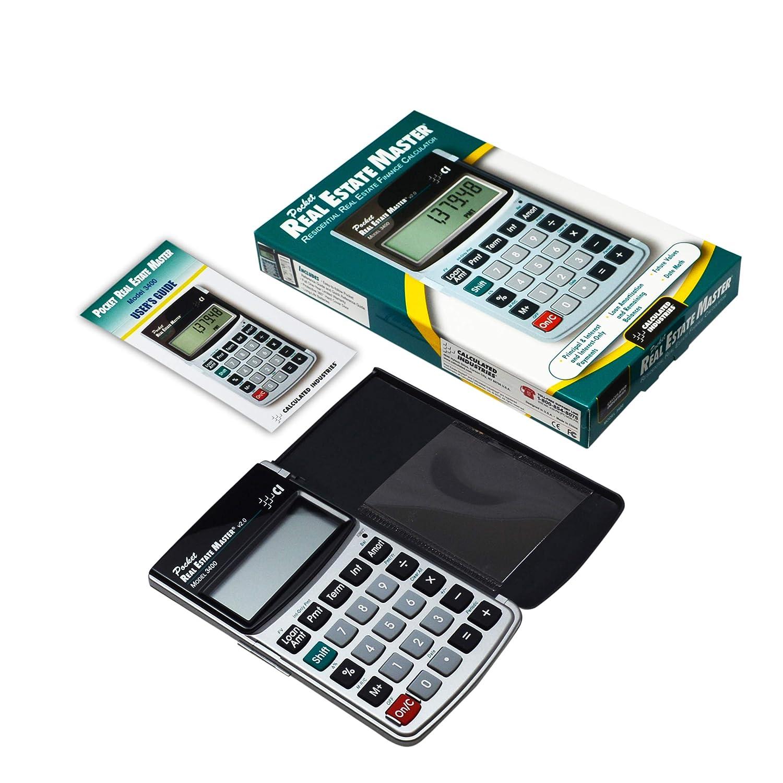 Amazon.com: Calculated Industries 3400 bolsillo real estate ...