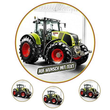 Tortenaufleger Fototorte Oblate Bild Geburtstag Motiv Traktor