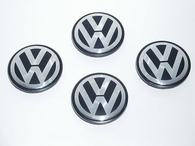 CPLL Tapacubos de aleación para Volkswagen Transporter 03-2015 TouarEG 03-15 69 mm 7L6601149B: Amazon.es: Coche y moto