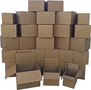 AmazonBasics Moving Boxes - Small/Medium/Large Bundle, 30-Pack