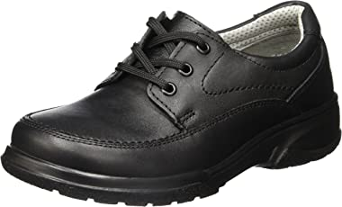 Flexi Zapatos de Primeros Pasos para Bebés Niños, color Negro