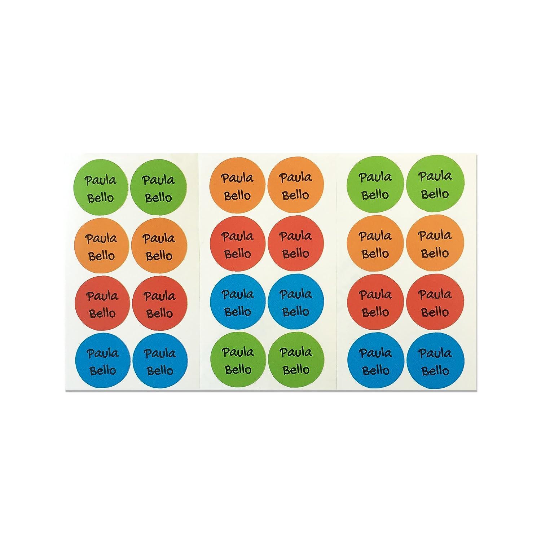 Pegatinas redondas de 3 cm. Paleta 1 28 Etiquetas adhesivas para zapatos