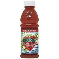 Tropicana Juice, Strawberry Kiwi, 10 Ounce (Pack of 15)