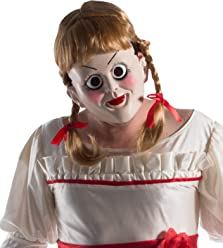 Annabelle: Creation Annabelle Mask With Wig
