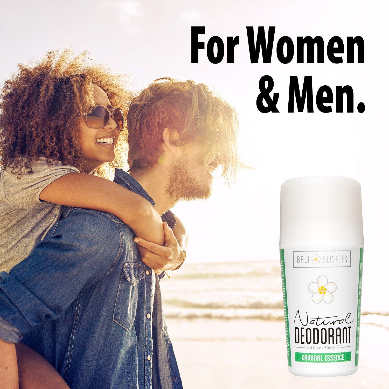 Bali Secrets Natural Deodorant – Organic & Vegan – For Women & Men – All Day Fresh – Strong & Reliable Protection – 2.4 fl.oz/75ml [Scent: Original Essence by Bali Secrets (Image #5)