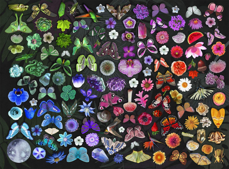 Buffalo Games - Josie Lewis - Twilight Garden - 1000 Piece Jigsaw Puzzle