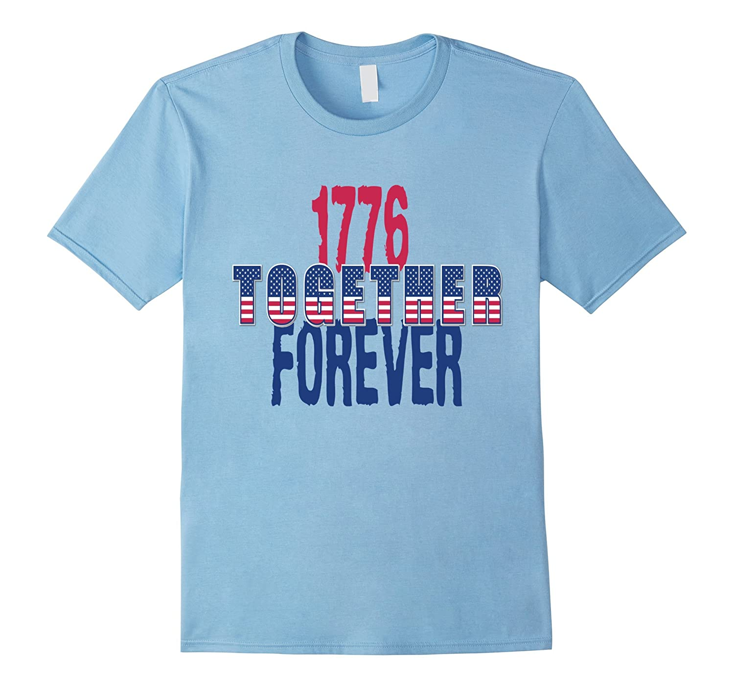 USA Independence Day 4 th Of July Patriotic Bright T-Shirt-PL