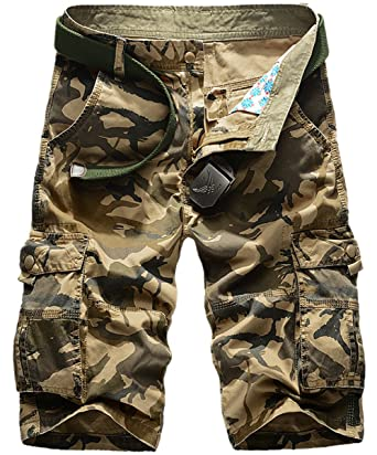 Hose Gerade Hosen Männer Herren Kurze Camouflage Short Panegy 8ptXqww