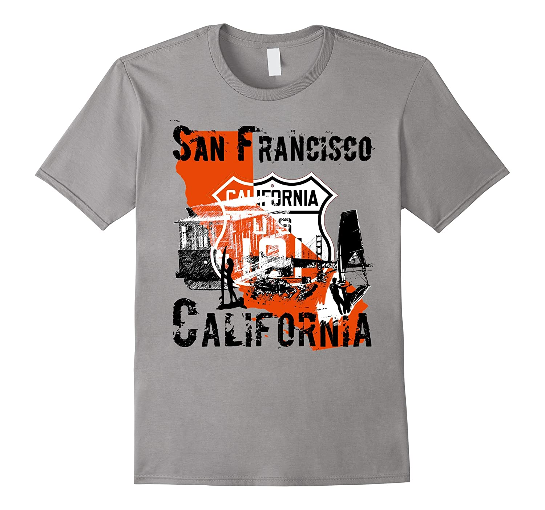 San francisco california t shirt t shirt managatee for Bespoke shirts san francisco