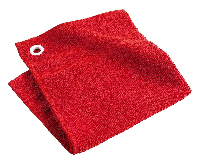 Douceur d'Intérieur Hand Towel, 50x 50cm, Cotton, green, 50x1x50 cm L3C 1730543