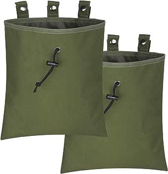 ATBP Molle 6 Magazines Dump Pouch Tactical Ammo Shell Gear Tool Belt Pouch Bag Holder Carrier Loader Thigh Holster Waist Pack