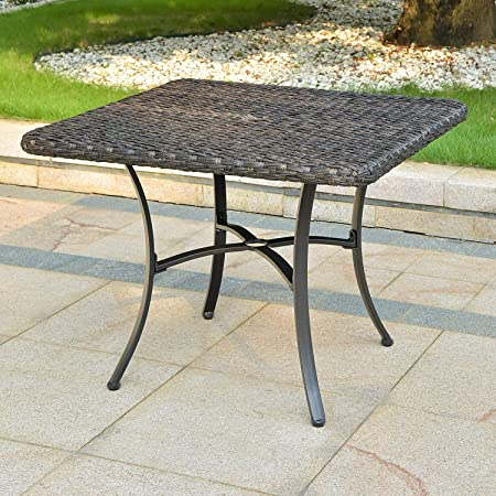 Ibiza Resin Wicker Aluminum Dining Chair