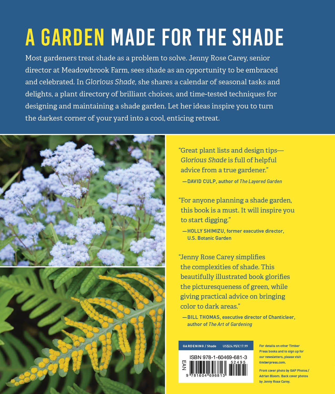 Glorious Shade: Dazzling Plants, Design Ideas, and Proven Techniques ...