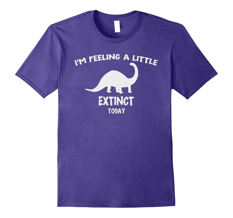 Extinct Animals Brontosaurus Dinosaur T-Shirt-FL