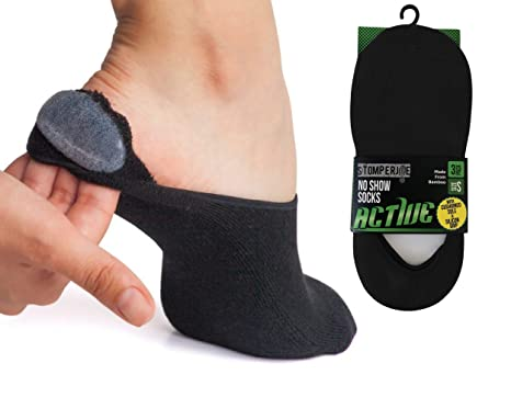 ecec73bd2029e Soft Athletic No Show Socks for Women. Casual Sock Liner 3 Pack Cushioned  Sole,