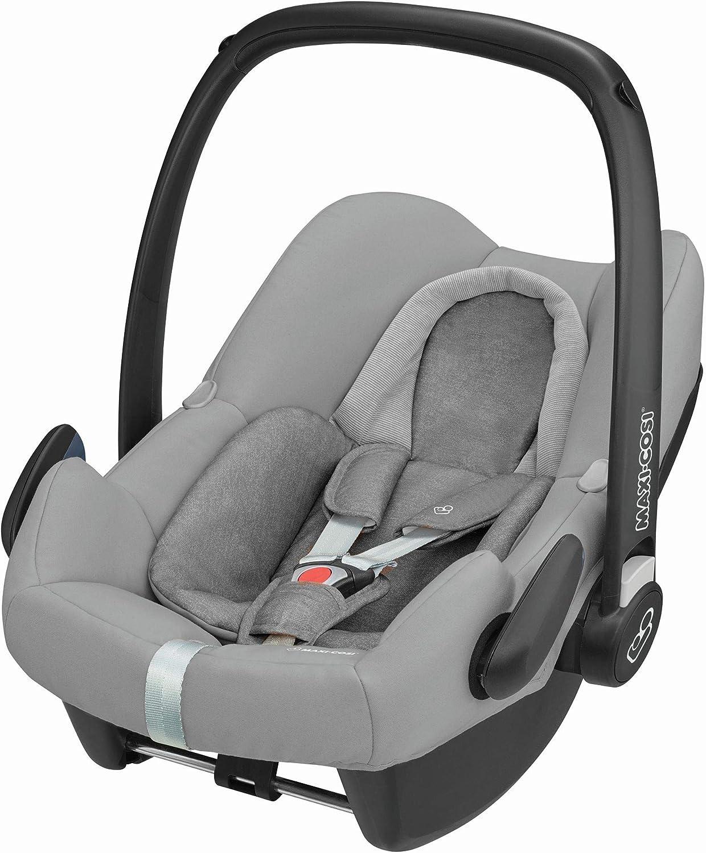 مقعد سيارة للأطفال ماكسي كوزي بيبل بلس لعمر الولادة فما فوق – رمادي
