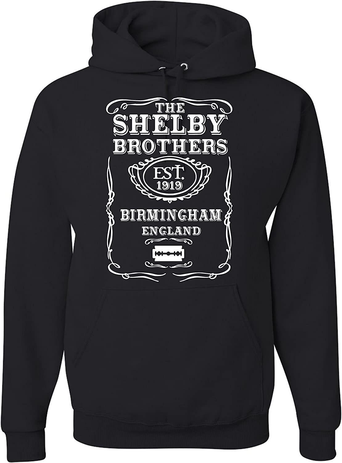 Sports Grey Hoodie PEAKY BLINDER INSPIRED TOMMY SHELBY