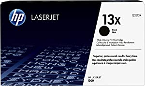 HP 13X | Q2613X | Toner Cartridge | Black | High Yield