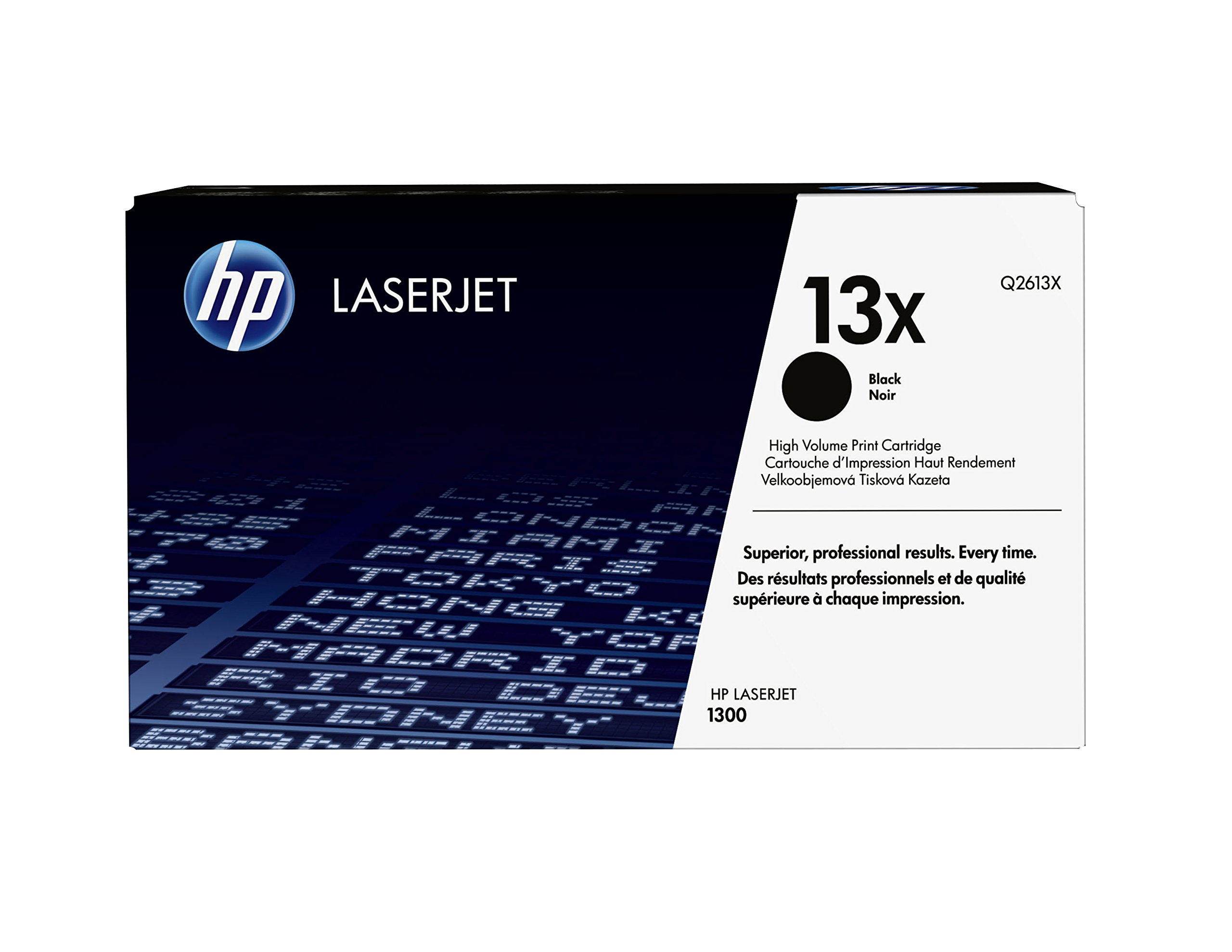 HP 13X (Q2613X) Black High Yield Original Toner Cartridge