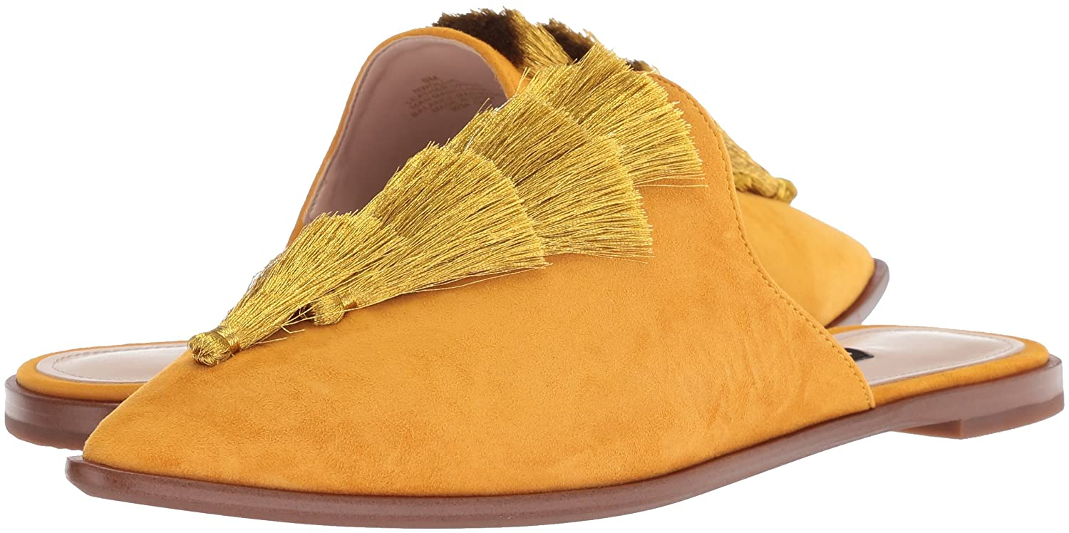 Nine Nine Nine West- - Ollial, Wildleder Damen Yellow Suede 4d962b