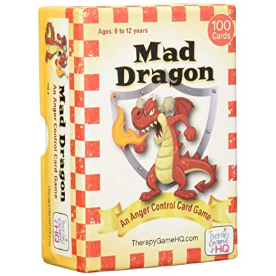 Mad Dragon: An Anger Control Card Game: Toys & Games