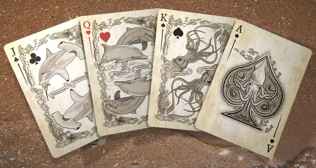 Brain Vessel Cargo Master Collection, Set of 4 Playing Card Decks by Brain Vessel Cargo (Image #5)