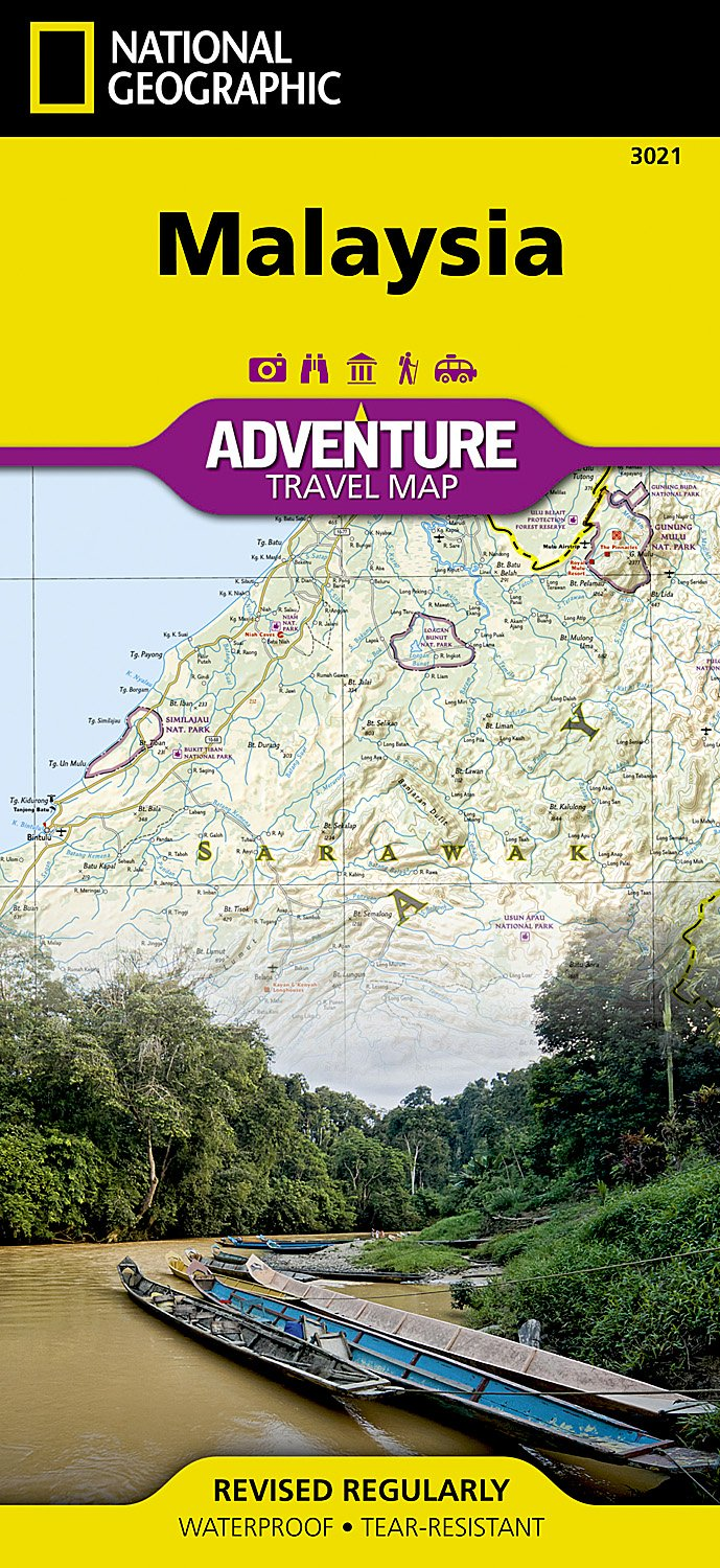 Malaysia national geographic adventure map national geographic malaysia national geographic adventure map national geographic maps adventure 9781566956147 amazon books gumiabroncs Images