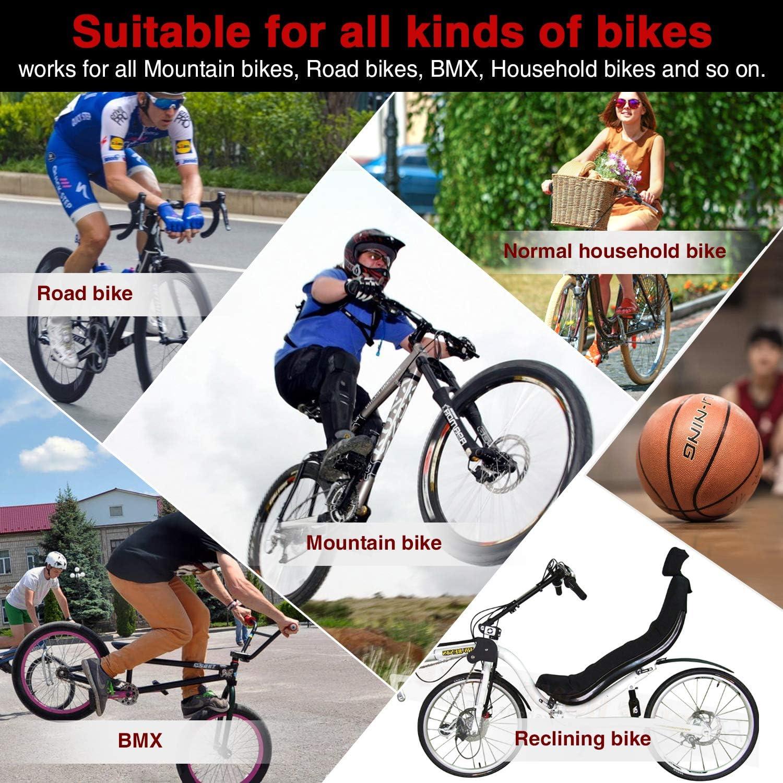 Amazon.com: Audew - Bomba de aire inflable para bicicleta ...