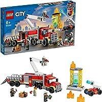 LEGO 60282 City Brandweer Vrachtwagen, Constructiespeelgoed met Brandweerman Poppetjes, Speelgoed voor Kinderen vanaf 6…