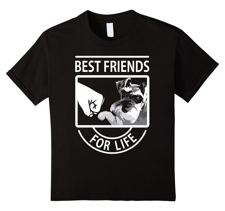 Womens Schnauzer Friends tshirt Medium-Xalozy