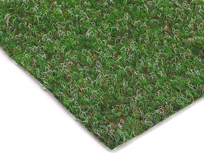TAPISO Pelouse Synth/étique Tapis dExt/érieur Gazon Balcon Terrasse Jardin Vert Poil Court R/ésistant au M/ètre 300 x 550 cm