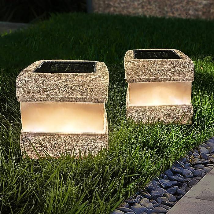Updated 2021 – Top 10 Led Lights Rock Like Garden Lights
