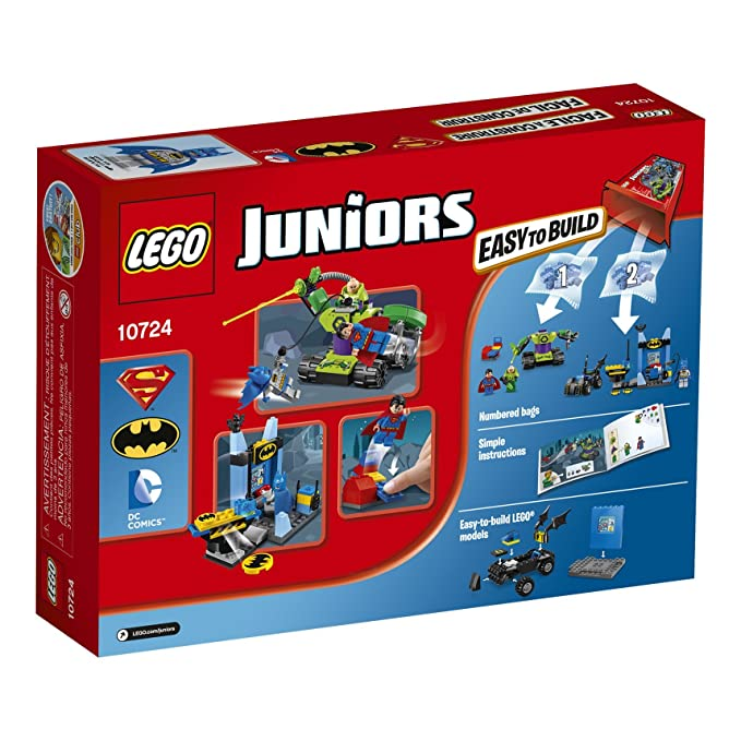 Amazon Lego Juniors Batman Superman Vs Lex Luthor 10724