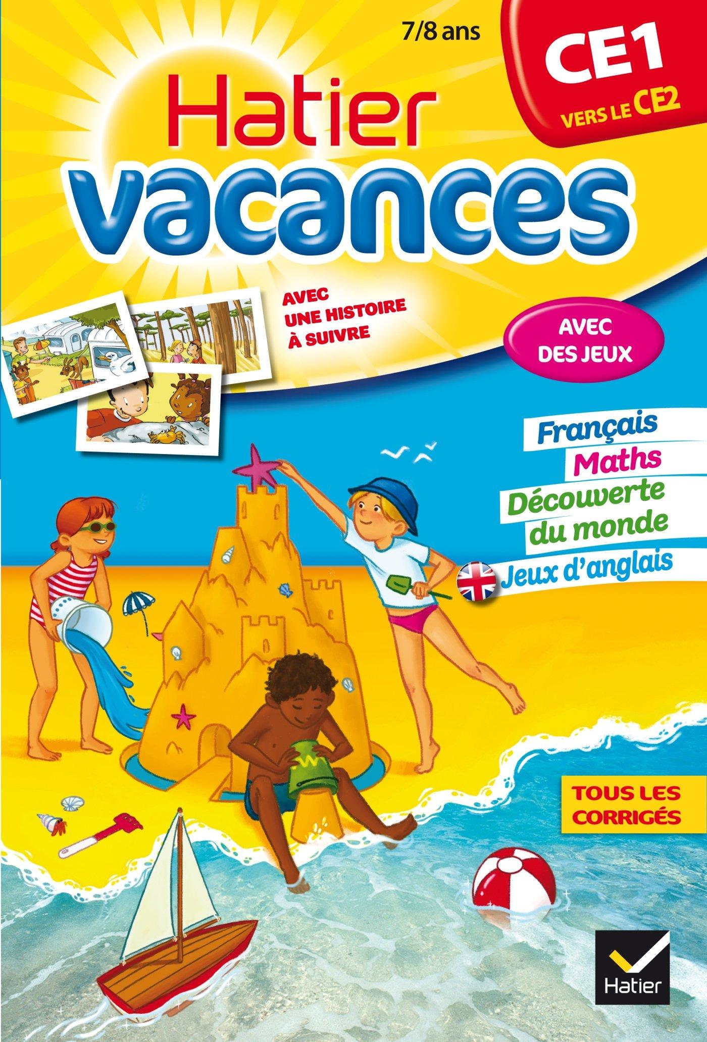 Download Cahiers De Vacances Hatier: Ce1 (Vers Le Ce2) 7/8 Ans (French Edition) pdf epub
