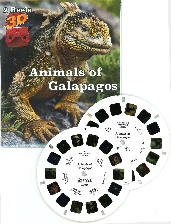 Animals von Galapagos - Classic Viewmaster - 2 Reel Satz - New