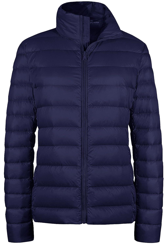 Wantdo Womens Packable Ultra Light Weight Short Down Jacket