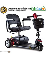 Pride Go-Go Sport Travel Scooter, 3 or 4-Wheel w/Avail Ext Warr (3 Wheel Scooter)