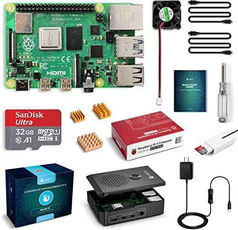 Amazon.com: LABISTS Raspberry Pi 4 - Kit de iniciación ...