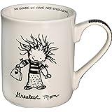 Enesco Children of the Inner Light Greatest Mom Stoneware Gift Mug, 16 oz.