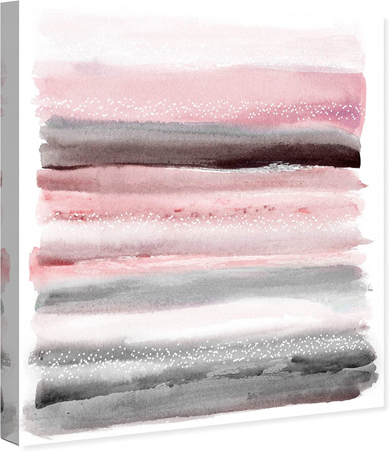 Amazon Com The Oliver Gal Artist Co Abstract Wall Art Canvas Prints Sunset Home Décor 24 X 28 Pink Gray Posters Prints