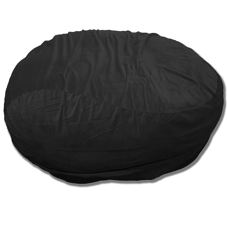 Amazon.com: oversac – Doble capa de terciopelo sofá ...