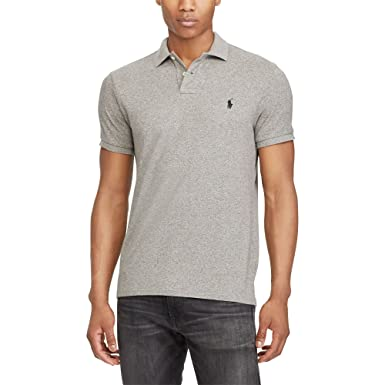 0e6a8c4bc5d1 Ralph Lauren Mens Custom Mesh Rugby Polo Shirt at Amazon Men s Clothing  store