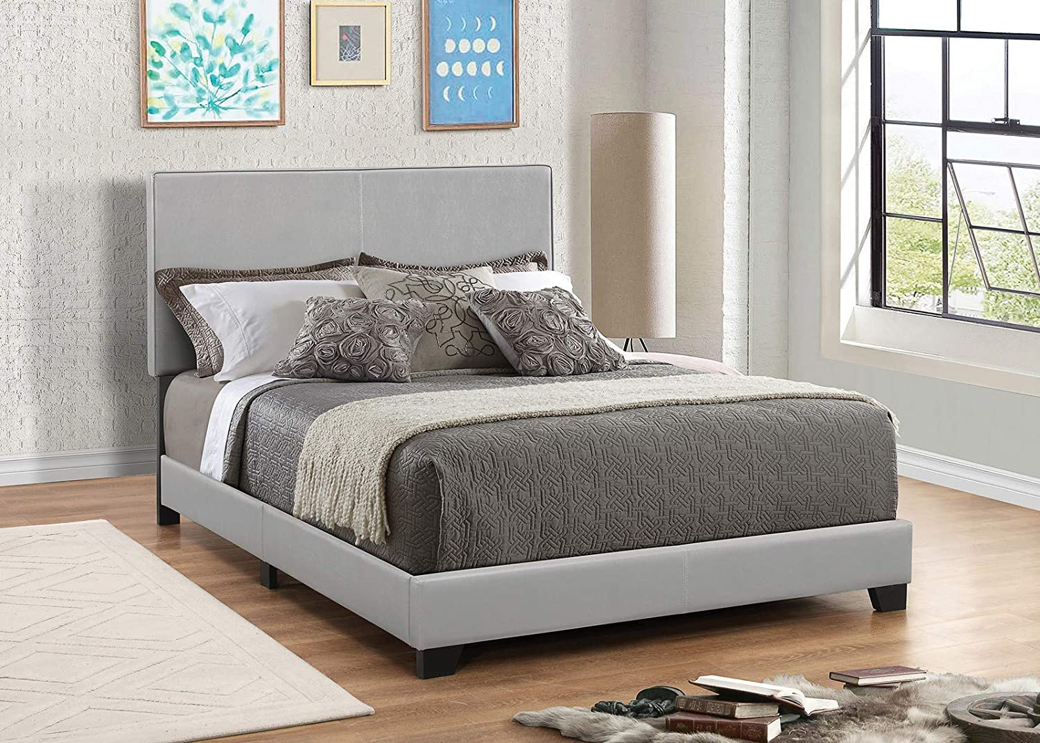 Coaster Home Furnishings Upholstered Bed, 58