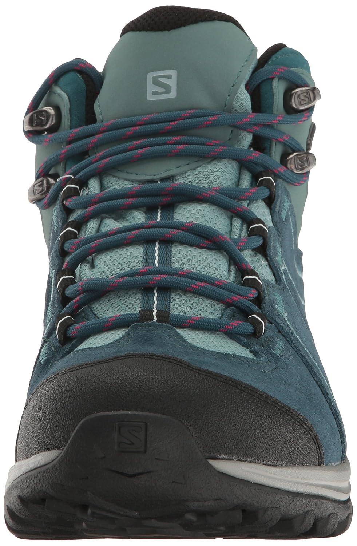 Salomon Women's Ellipse 2 Mid LTR GTX W Hiking Boot B01HD2TNDC 5 B(M) US|Reflecting Pond/Artic/North Atlantic