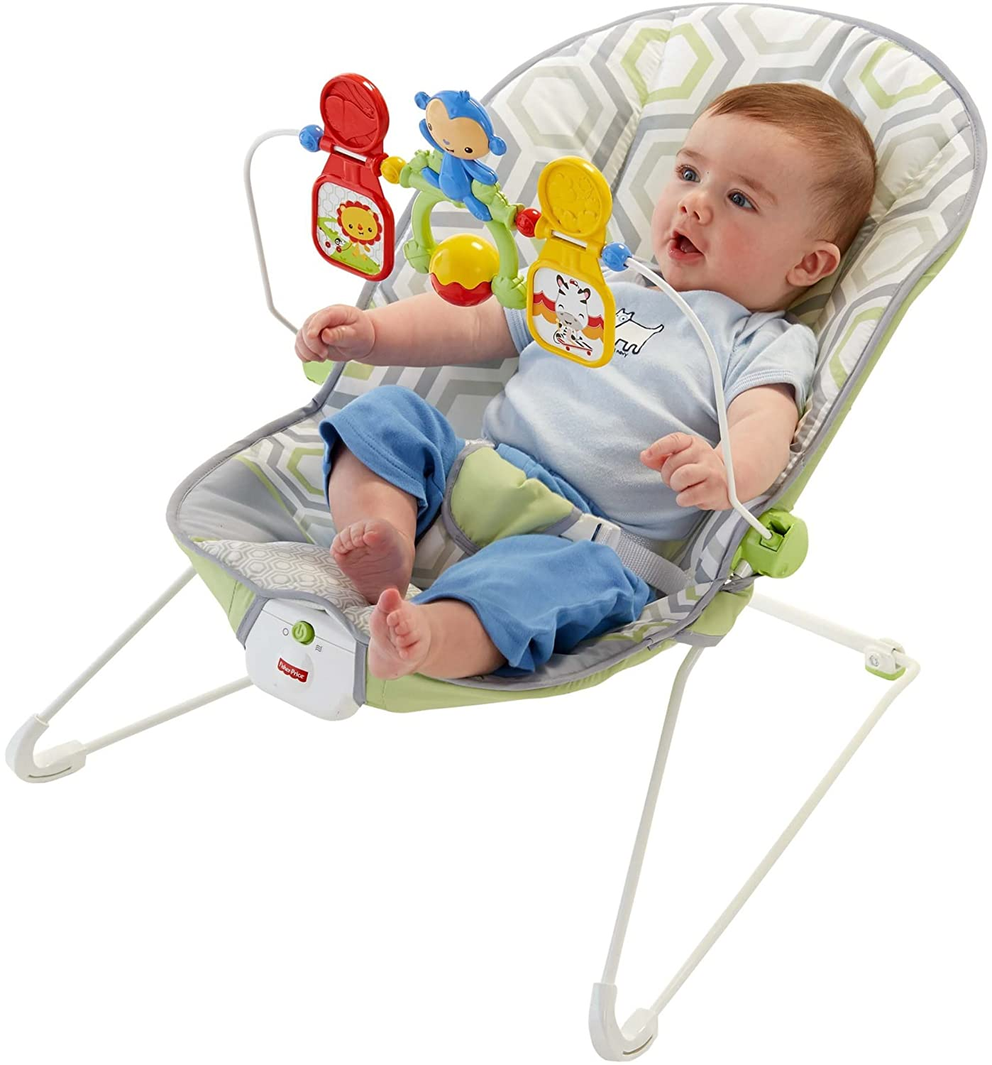 Fisher-Price Baby s Bouncer, Geo Meadow