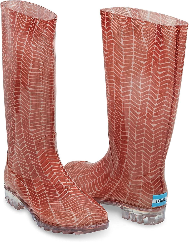 Amazon Com Toms Women S Cabril Rain Boots Boots