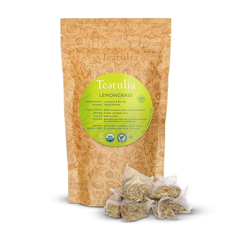 Lemongrass and bay leaf tea bags